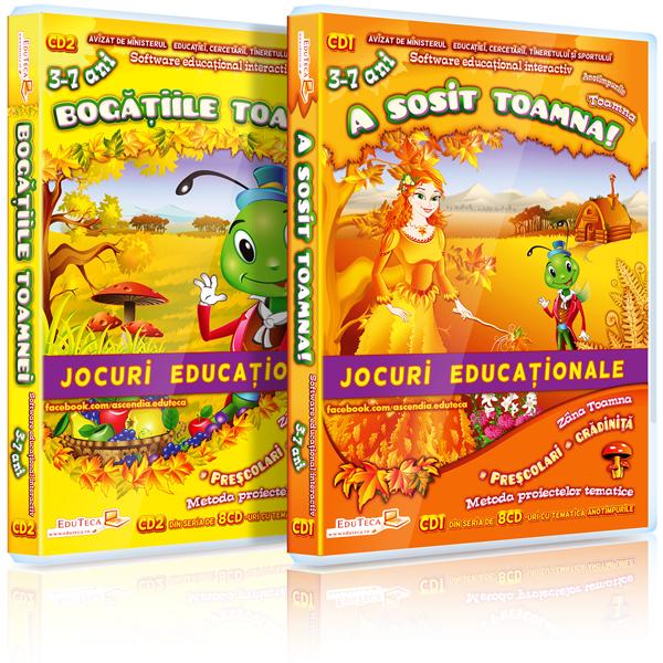 EduTeca – Toamna – CD1 + CD2