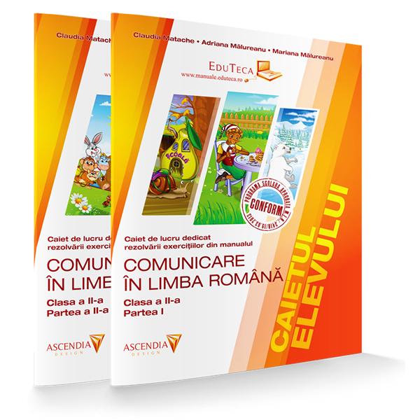 Caietul elevului – 2x – Comunicare în limba română – Clasa a II-a