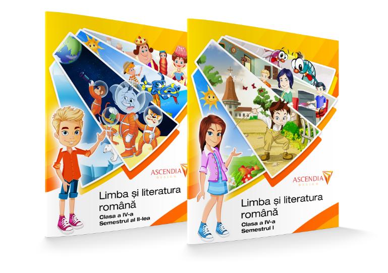 Manual – Limba și literatura română – Clasa a IV-a
